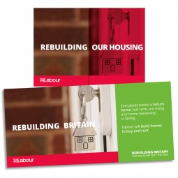 Image of Labour housing leaflet