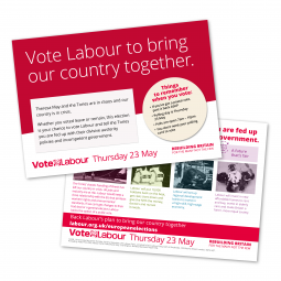 Image of Labour's doorstep EU leaflet