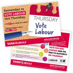 Remember To Vote Labour This Thursday - multi candidate