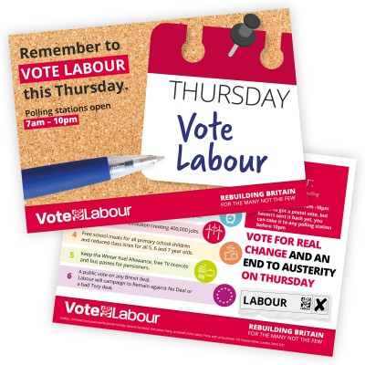Remember To Vote Labour This Thursday