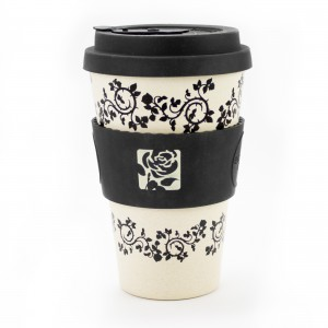 Black Rose Eco Cup