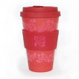 Image of Labour eco cup with rose design
