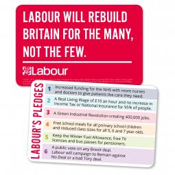 Image of England pledge card