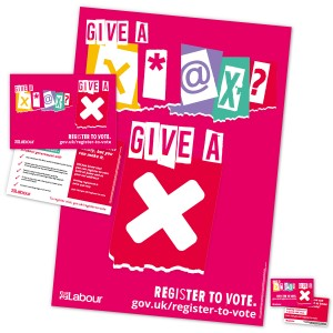 Student voter registration pack