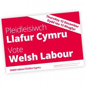 GE2019 Welsh Poster