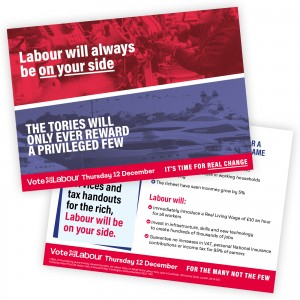 Labour Will Always Be On Your Side Leaflet
