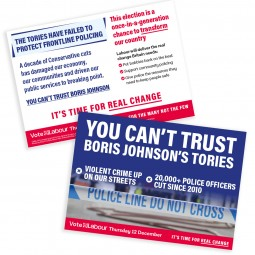 Image of labour safer communities leaflet