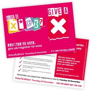 Student registration leaflet