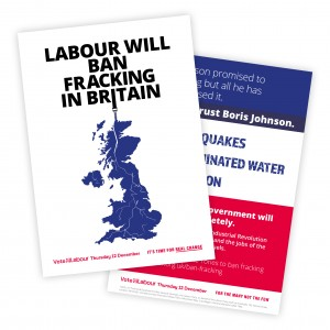 Ban fracking in Britain