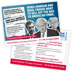 Don't let the Tories sell our NHS leaflet