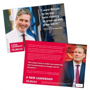 Keir Starmer: Labour | A new leadership leaflet