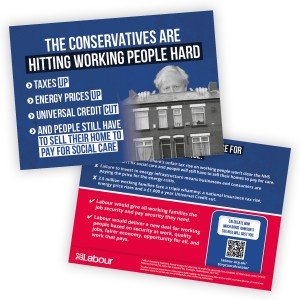 Working families are paying the price for Boris Johnson's chaos leaflet