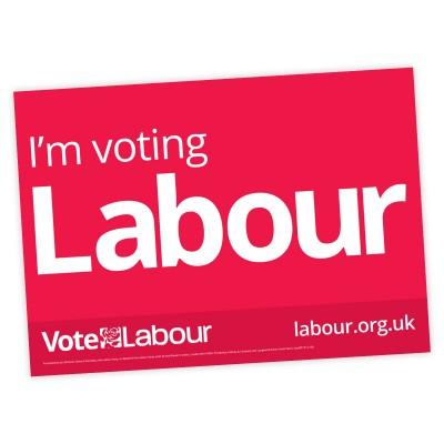 Labour Campaign A3 Posters