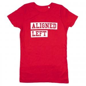 Women's Aligned Left T-Shirt