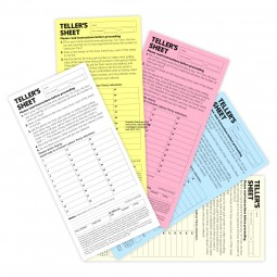 Image of a pack of tellers pads