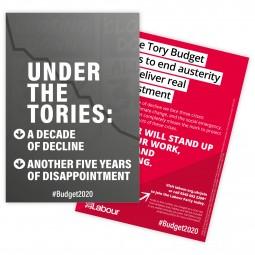 Budget leaflet