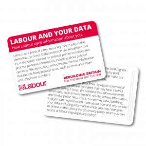 Data Protection Cards