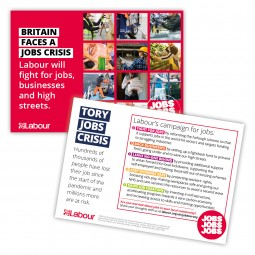Jobs Campaign Leaflet