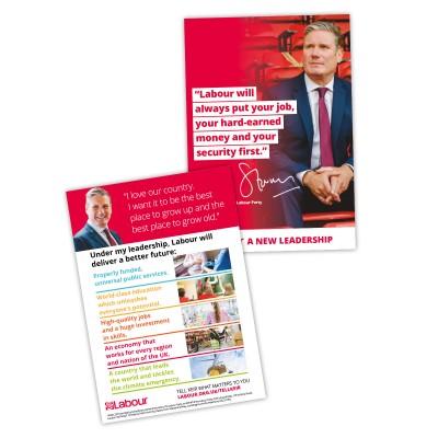 Labour's Vision for Britain Leaflet
