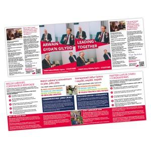 Wales 'Leading Together' Leaflet