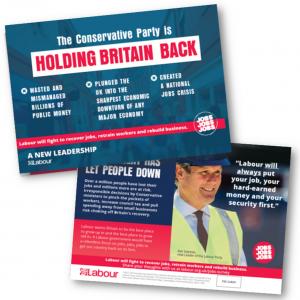Jobs Jobs Jobs Campaign Leaflet