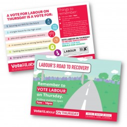 Labour's Road to Recovery Option 1