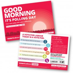 Good Morning it's Polling Day - Single Candidate Option 1