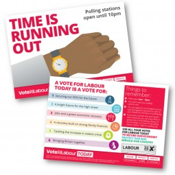 Time is Running Out Option 1 Single Candidate