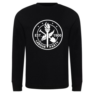 Est. 1900 Large Logo Black Sweatshirt