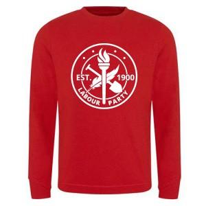 Est. 1900 Large Logo Red Sweatshirt