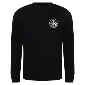 Est. 1900 Small Logo Black Sweatshirt