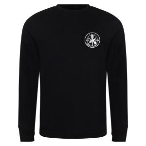 Est. 1900 Small Logo Black Sweatshirt