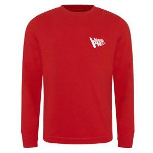 Labour Flag Small Logo Red Sweatshirt