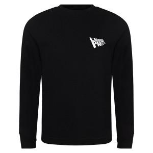 Labour Flag Small Logo Black Sweatshirt