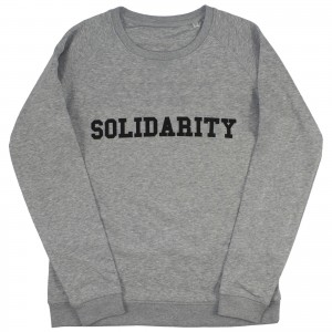 Men's SOLIDARITY Sweater (black)