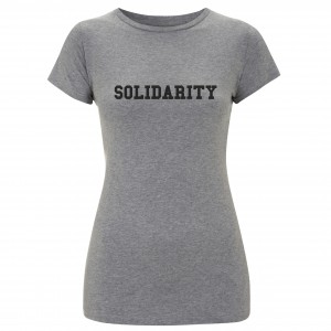 Women's Solidarity T-Shirt  (black)