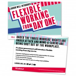 Image of labour's flexible working leaflet