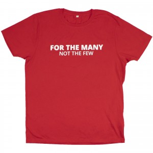 For the Many slogan T-Shirt