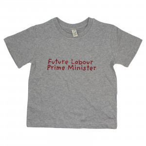 Children's Future Prime Minister Glitter T-Shirt