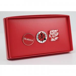 Three Pin Badge Gift Box
