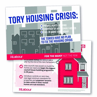 Image of england housing leaflet