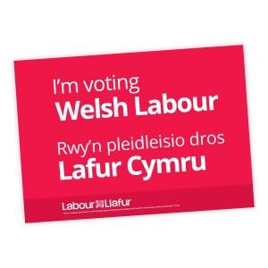 Welsh Labour A2 Correx Boards