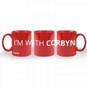 I'm with Corbyn Mug