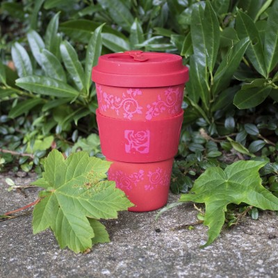 Red Rose Eco Cup