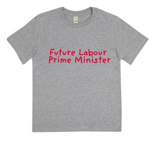 Children's Future Labour Prime Minister T-Shirt