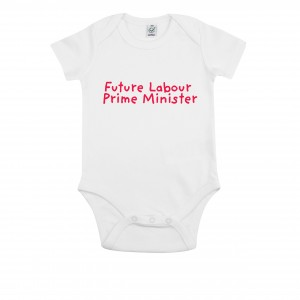 Future Labour Prime Minister Baby Grow