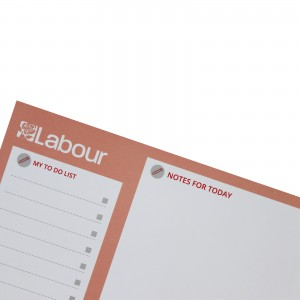 Labour Party Desk Jotter