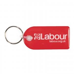 Labour Keyring