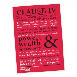 Image of Clause IV poster