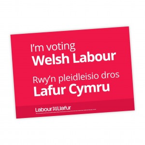 Welsh Labour Poster
